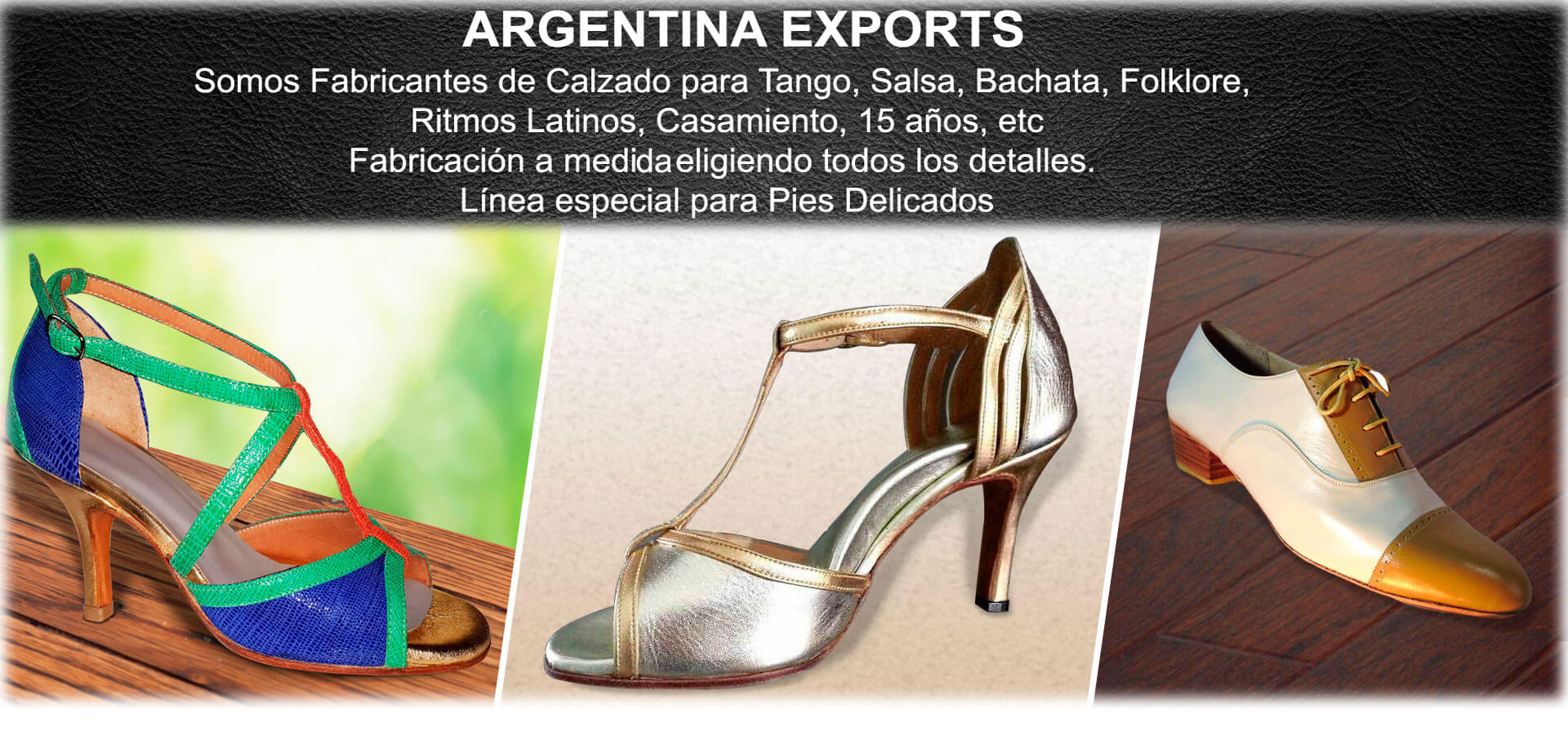 Fábrica de Zapatos de Tango, Salsa y Más
